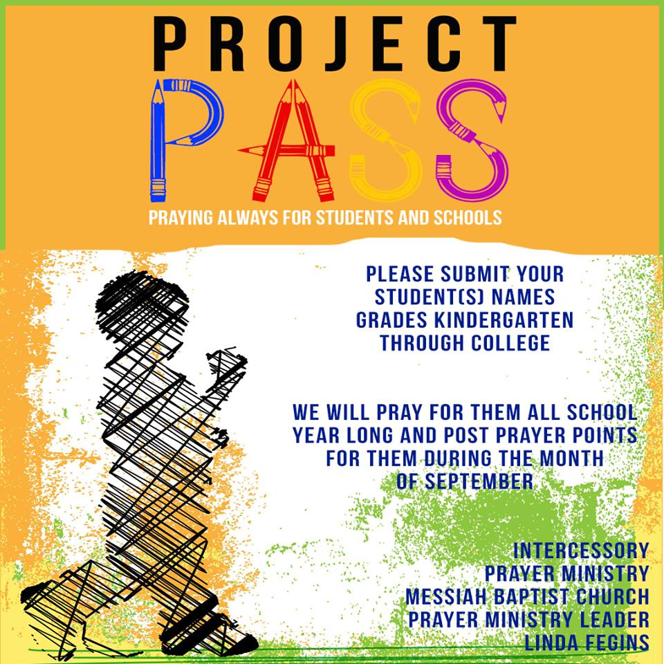 Students-Project PASS - The Prayer Circle Leader